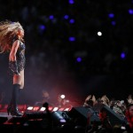 Feb 3, 2013; New Orleans, LA, USA; Recording artist Beyonce performs during halftime of Super Bowl XLVII between the San Francisco 49ers and the Baltimore Ravens at the Mercedes-Benz Superdome. Mandatory Credit: Derick E. Hingle-USA TODAY Sports