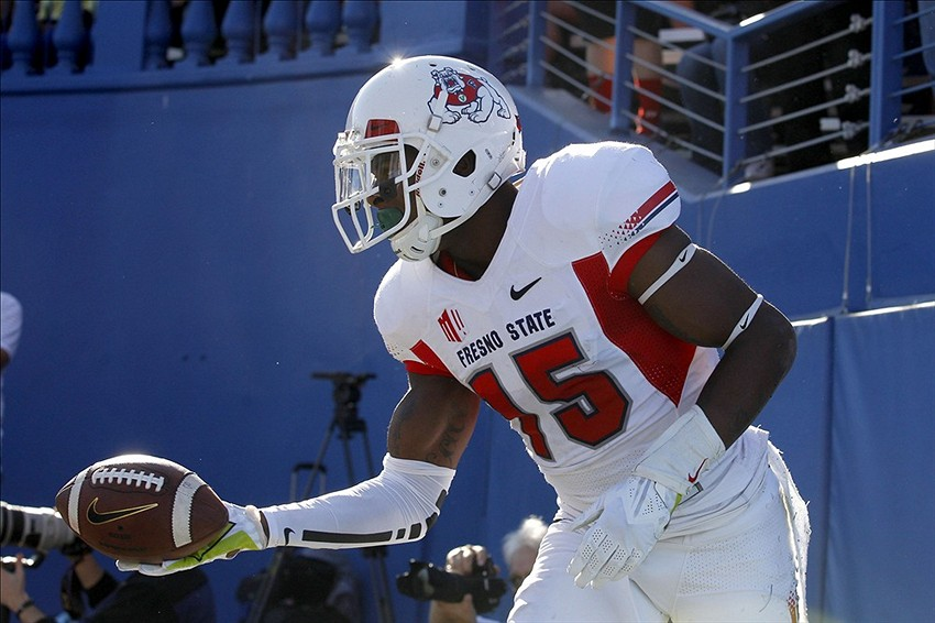 2014 Nfl Draft Fresno State Wide Receiver Davante Adams Off To The Nfl