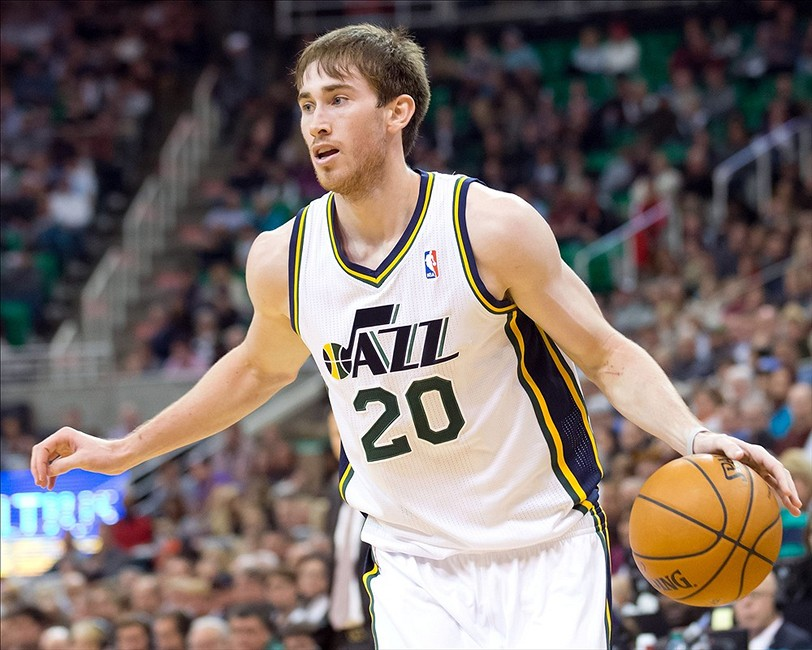 Utah Jazz Swingman Gordon Hayward Will Be A Game Time Decision Against Cleveland