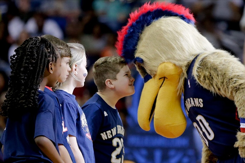 Meet King Cake Baby The New Orleans Pelicans New Mascot