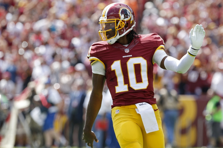 Robert Griffin III jerseys placed on the clearance rack (Photo)