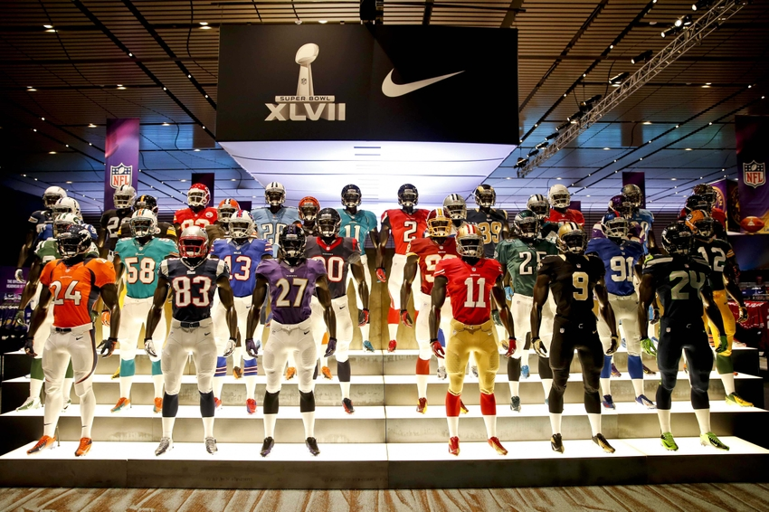 Top Selling Jerseys In NFL By Number