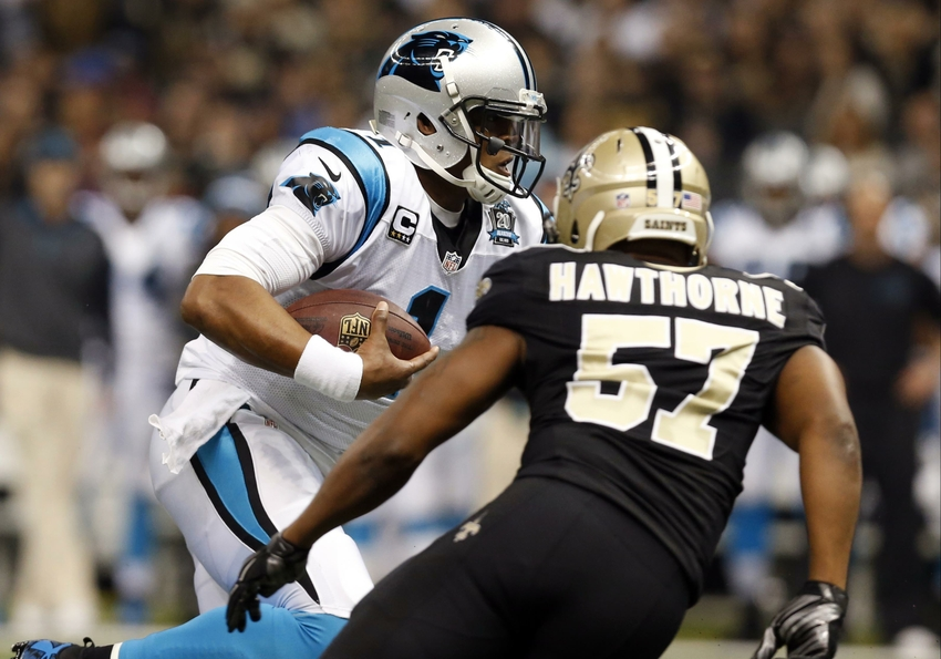 Nike authentic jerseys - Brawl Breaks Out At Saints, Panthers Game