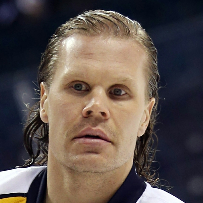 Olli Jokinen Cuts Off Hair For Charity (Photo