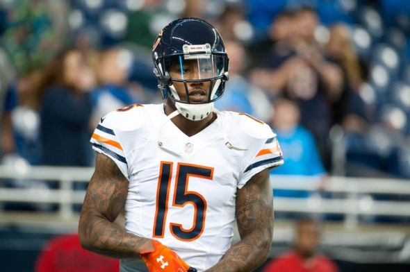 Brandon Marshall was challenged to a race for his jersey number