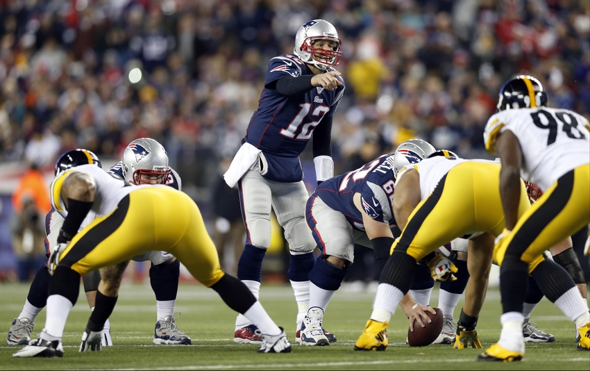 Image result for steelers patriots foxborough