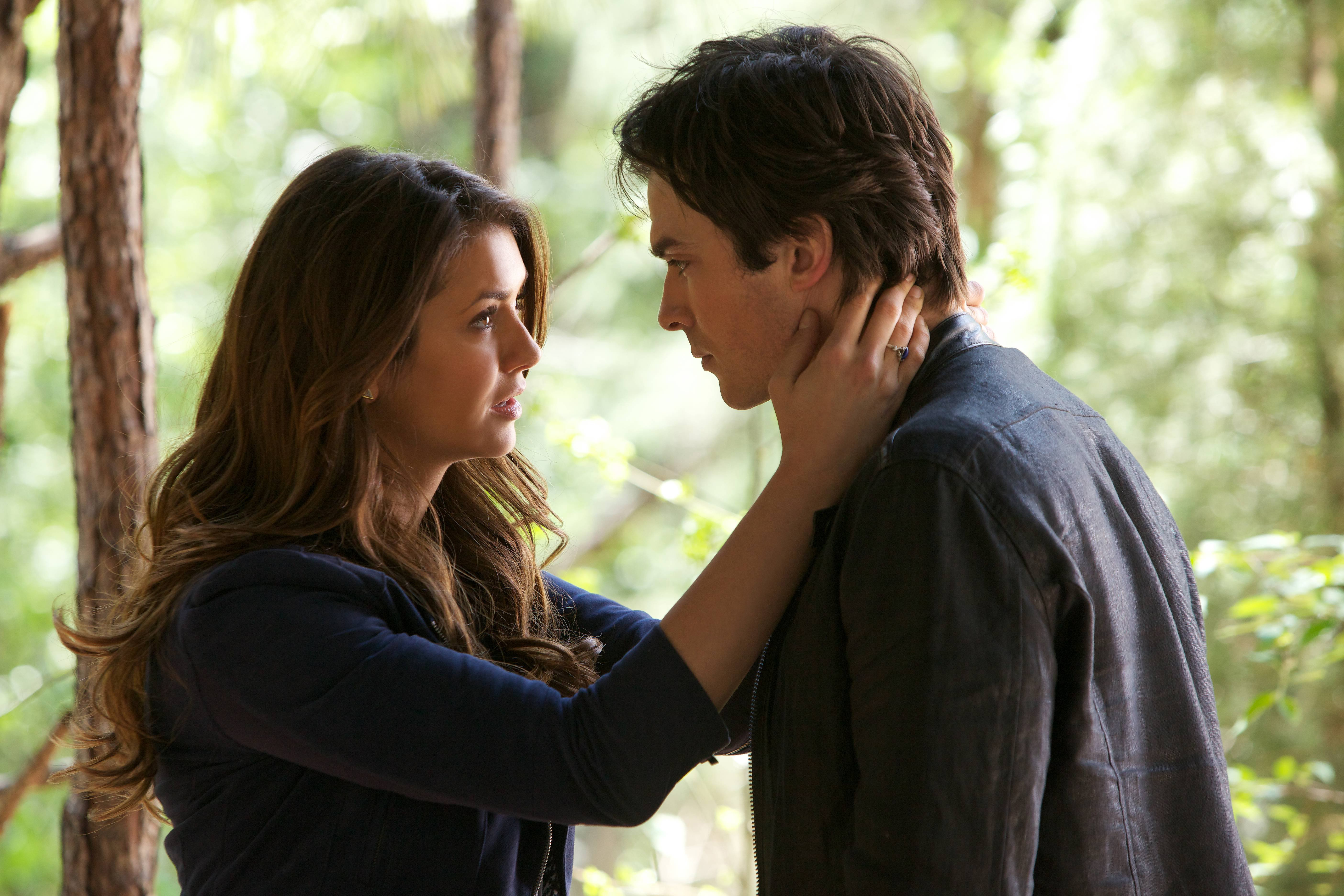 Dating elena start when damon does Elena and