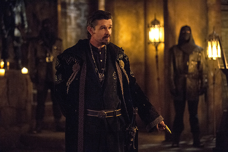 "Arrow -- ""The Fallen"" -- Image AR320B_0097 -- Pictured: Matt Nable as Ra's al Ghul -- Photo: Cate Cameron/The CW -- © 2015 The CW Network, LLC. All Rights Reserved."