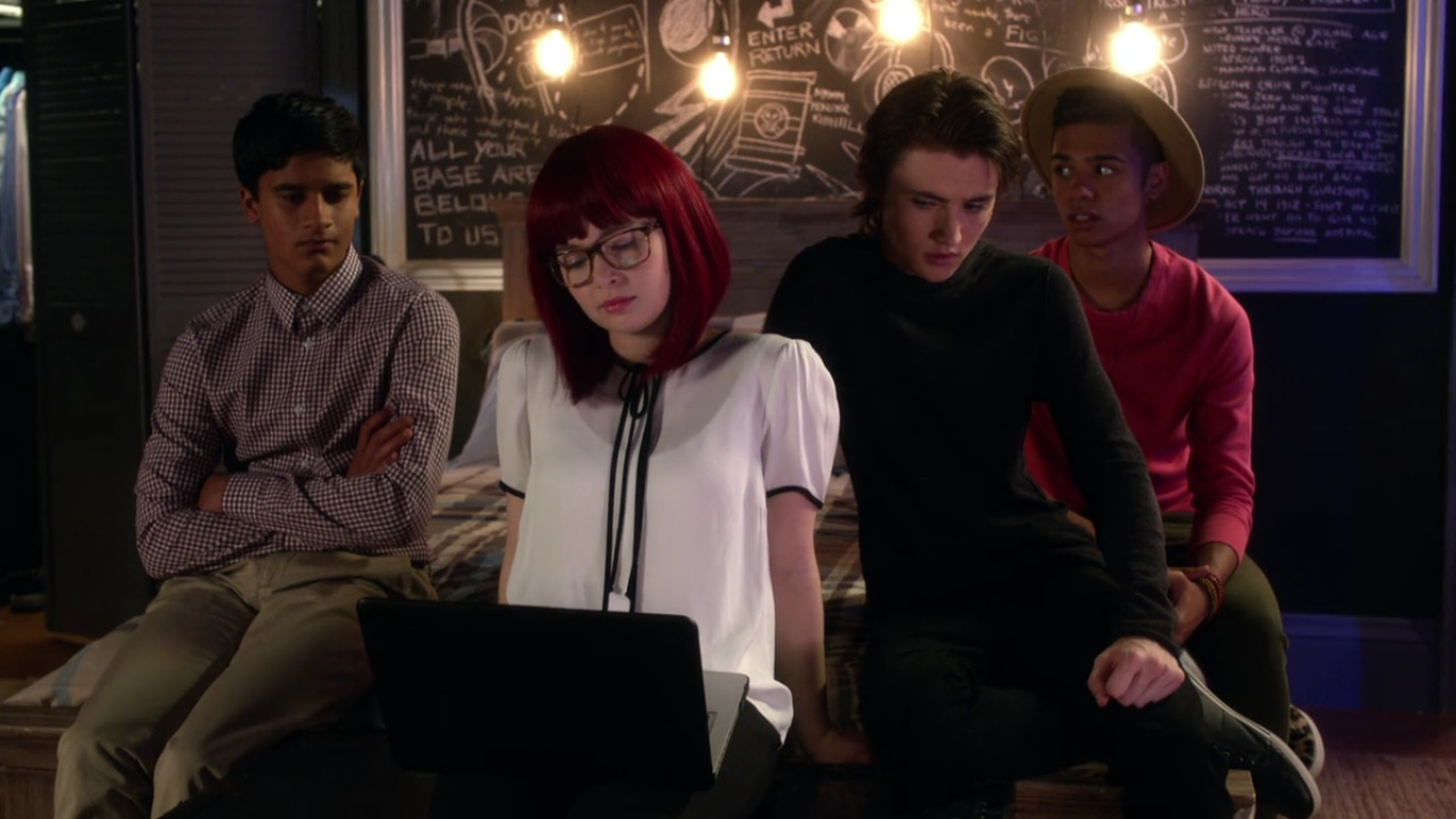 Degrassi OMG Moment Baaz, Yael, Hunter, and Viay watch an adult film together.