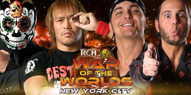 Image result for roh war of the worlds 2017 Young Bucks