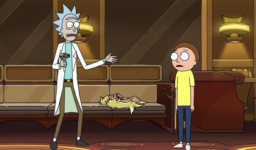 Rick and Morty season 4 returned with its most meta episode yet