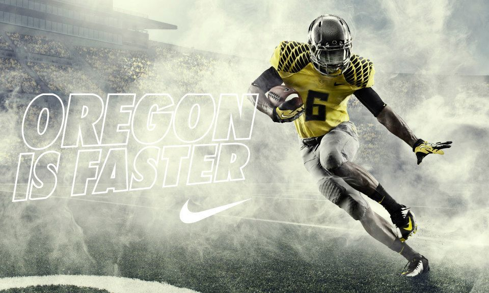 Oregon has long been known for their Nike uniforms and these latest threads  from Nike continue the Ducks flashy tradition ...