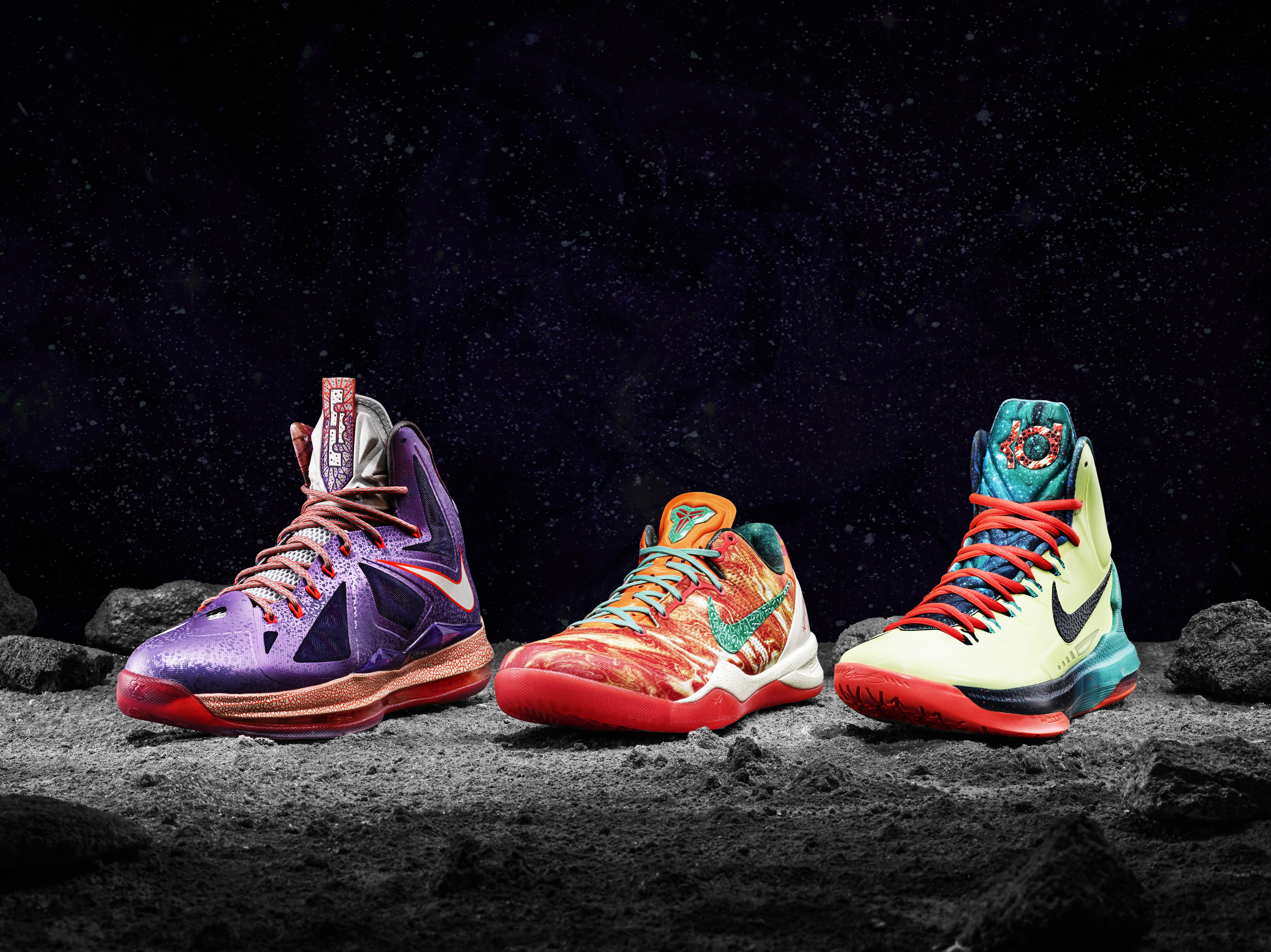 523ce79f44b4 2013 NBA All-Star Game  Nike Unveils LeBron X
