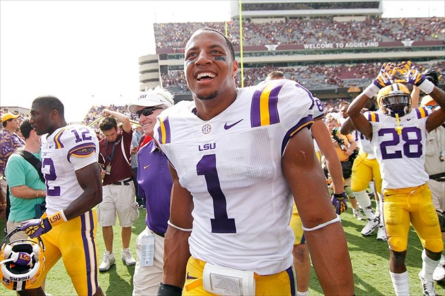 hot sale online 280a2 67126 LSU Tigers Safety Eric Reid To Enter 2013 NFL Draft