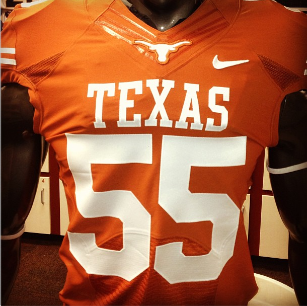 low priced a52d8 2c104 Texas Longhorns Get New Uniforms For 2013 Season