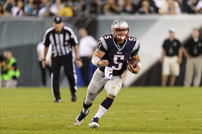 separation shoes 71744 fa4d5 New England Patriots hint Tim Tebow's roster spot is in jeopardy