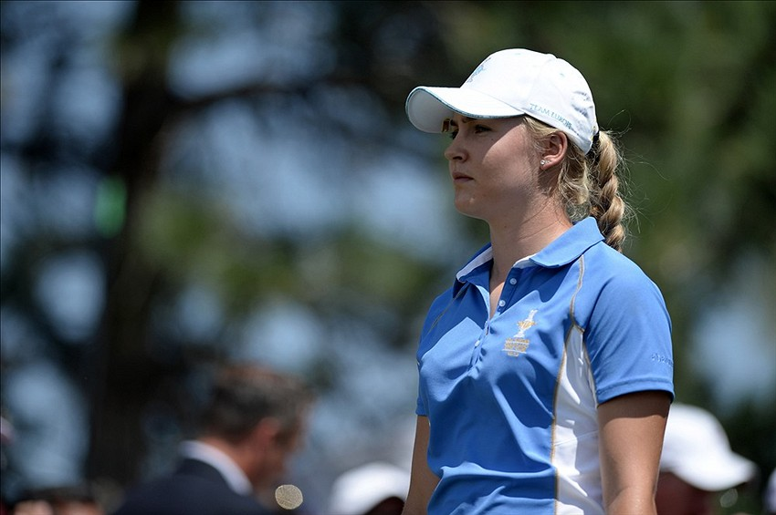 charley hull u0026 39 s stalking carlota ciganda at suzhou open