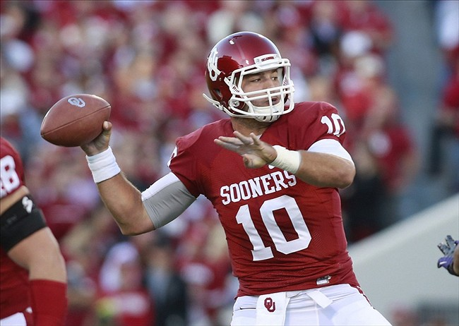 pretty nice b30ef 421ec Red River Rivalry 2013: Oklahoma Sooners uniforms unveiled ...