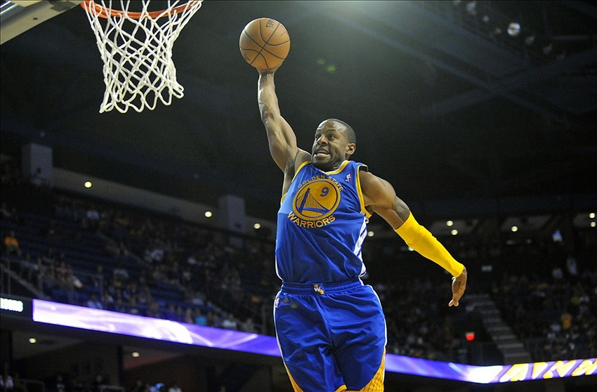 the latest 7e355 e2d7b Golden State Warriors' Andre Iguodala was given Twitter ...