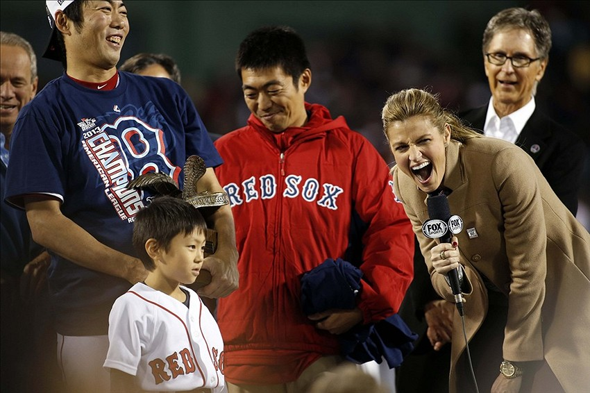 World Series 2013: Koji Uehara's son gives awesome interview