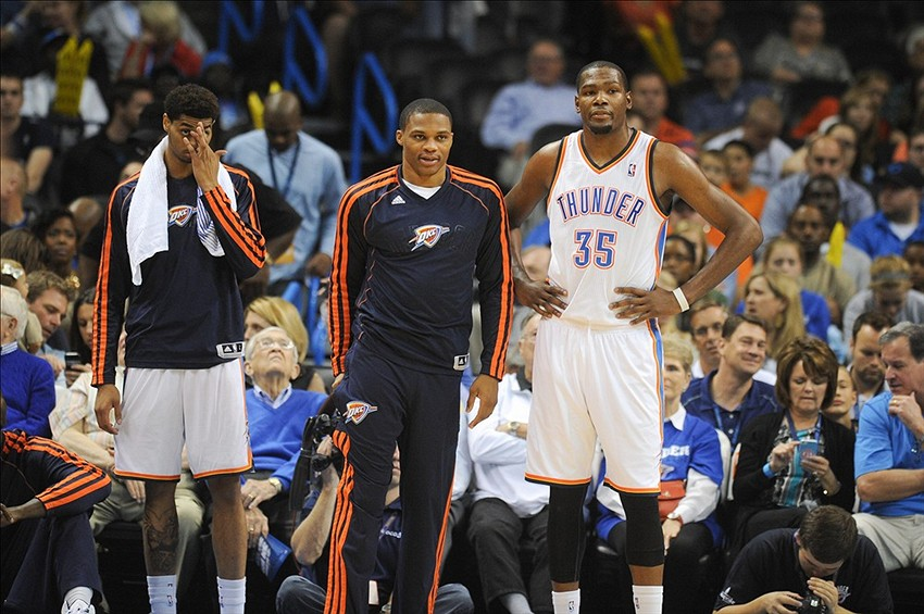 new york 55261 38170 Thunder guard Russell Westbrook returns to practice