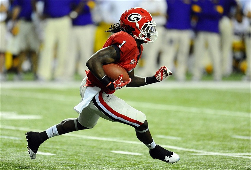 new style 402ed 27fe0 Former Georgia Bulldogs RB Isaiah Crowell entering NFL Draft