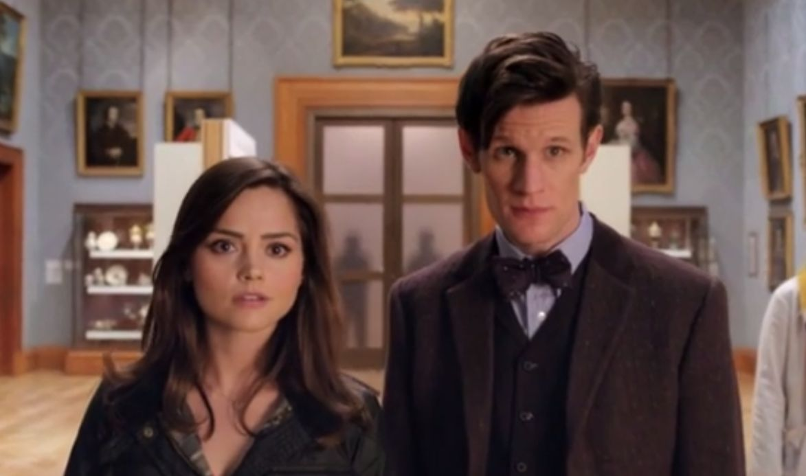 Image result for eleventh doctor and clara