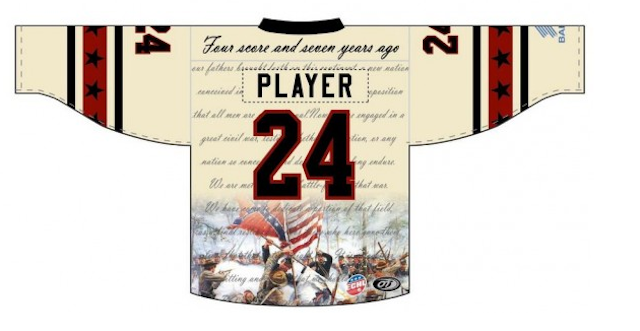 925dea480 Bakersfield Condors to wear Gettysburg Address jerseys