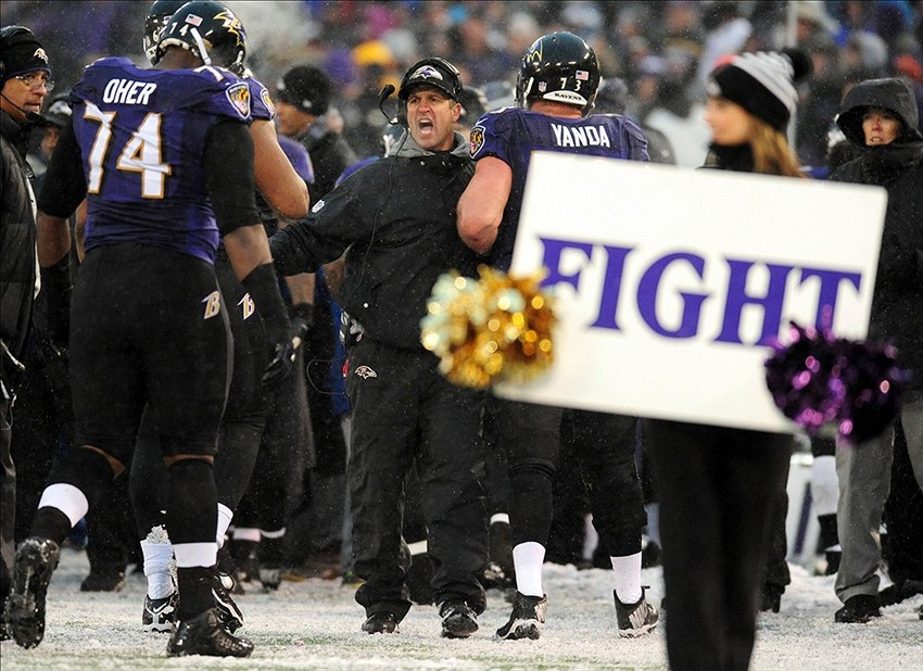 sports shoes 4bdc4 381f0 Harbaugh, Allen chosen as NFL Salute To Service Award finalists