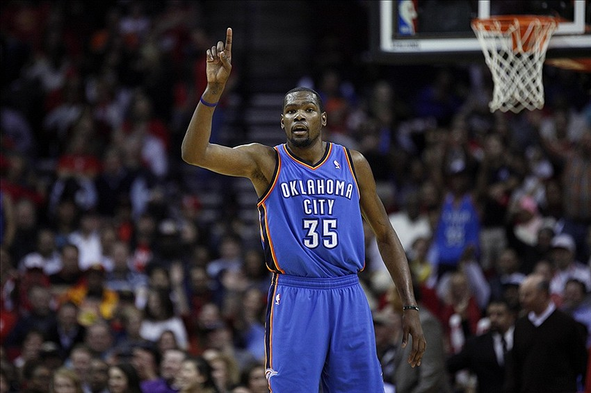 376fa7121a8 Thunder  Kevin Durant yells  get off me b tch  at Rockets  Terrence Jones