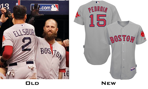 Boston Red Sox to revert back to old road uniform for 2014 season 469ca49d5df