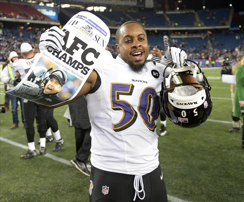 f3f97a01f9b8 NFL Rumors  Ravens re-sign LB Albert McClellan to a two-year contract