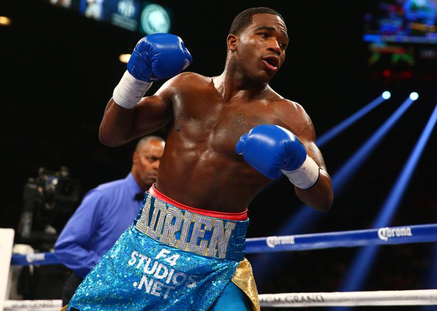 Mayweather vs  Maidana results: Adrien Broner with some