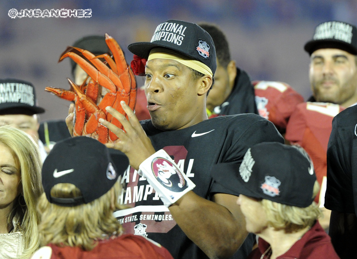 Report: Jameis Winston tried to avoid security during crab leg theft