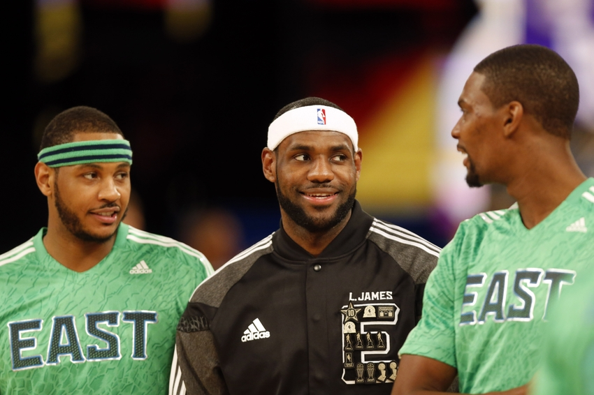¿Cuánto mide LeBron James? - Real height Carmelo-anthony-lebron-james-chris-bosh-nba-all-star-game1