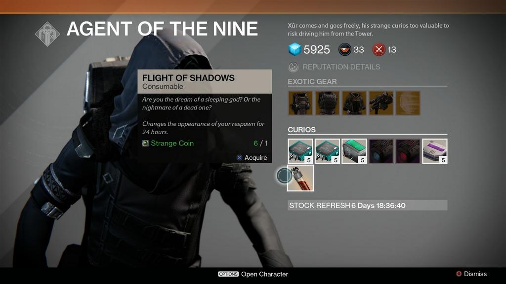 Xur Offering A Treat In Destiny
