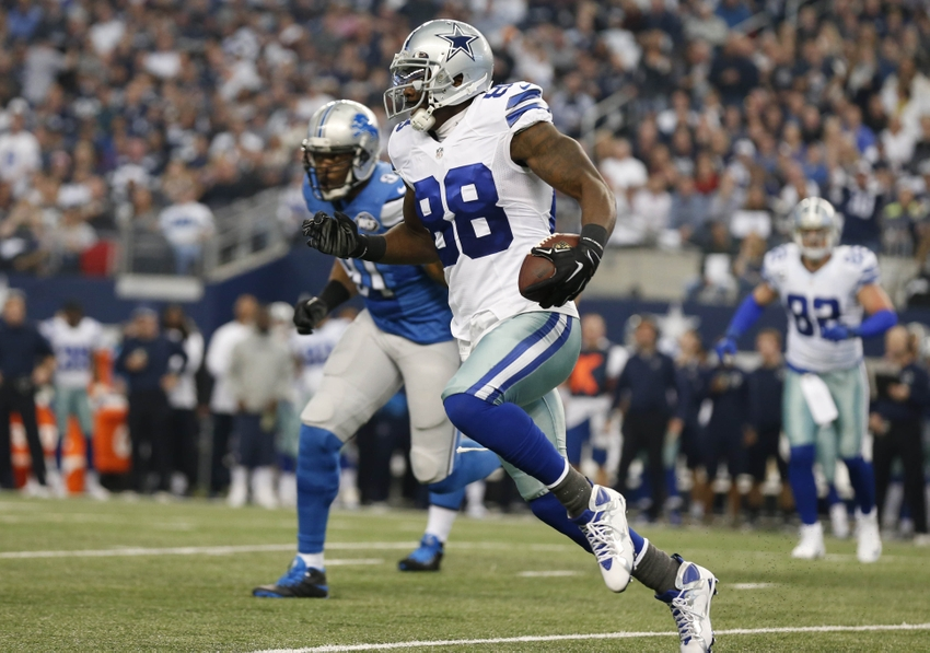 Dez Bryant Gets Jammed Off His Feet By Darius Slay Video