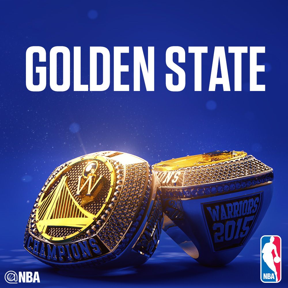 NBA Instagram mocked up championship rings (photo)