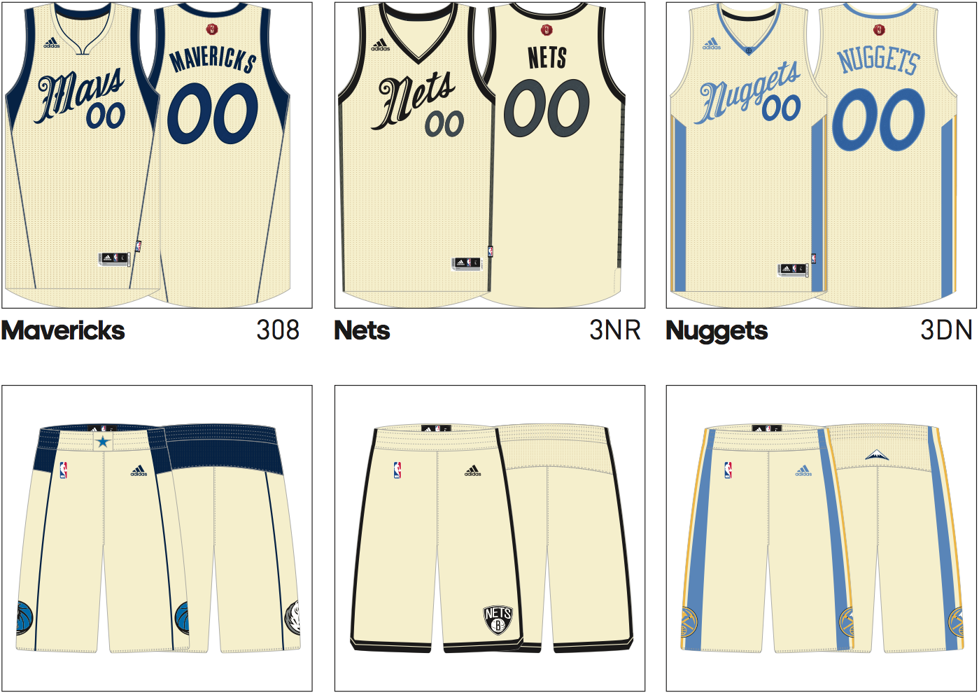 6901cdf1b420 The NBA Christmas Day jerseys have already leaked and they are amazing.