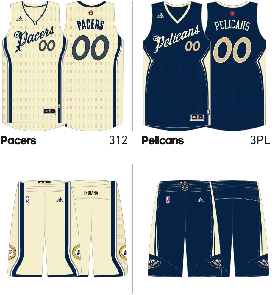 2015 NBA Christmas Day jerseys leaked (Photos)
