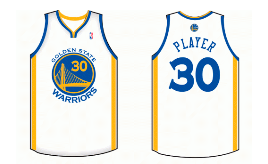 ef732ff0d Golden State Warriors Home Uniform - National Basketball Association (NBA)  - Chris Creamer s Sports
