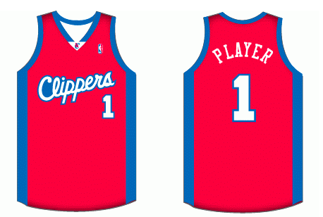 e9b125d36693 Los Angeles Clippers Road Uniform - National Basketball Association (NBA) - Chris  Creamer s Sports