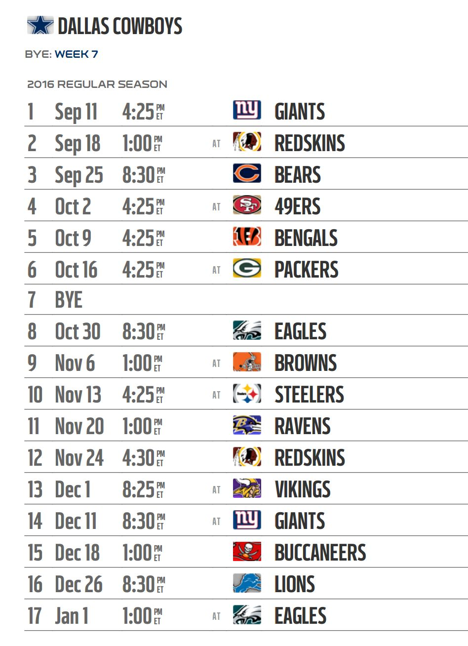 This is an image of Dynamite Printable One Page Nfl Schedule 2020