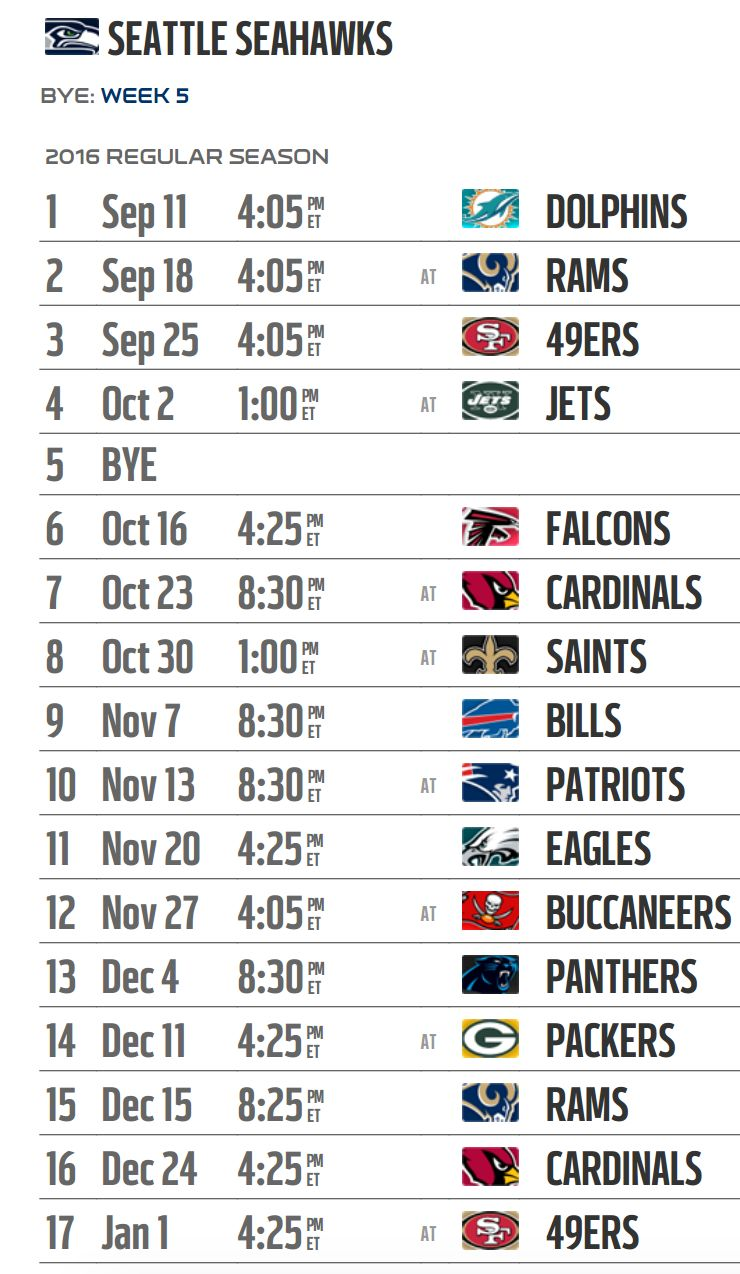 Four Primetime Games and Five 2012 Playoff Teams Highlight 2013 ...