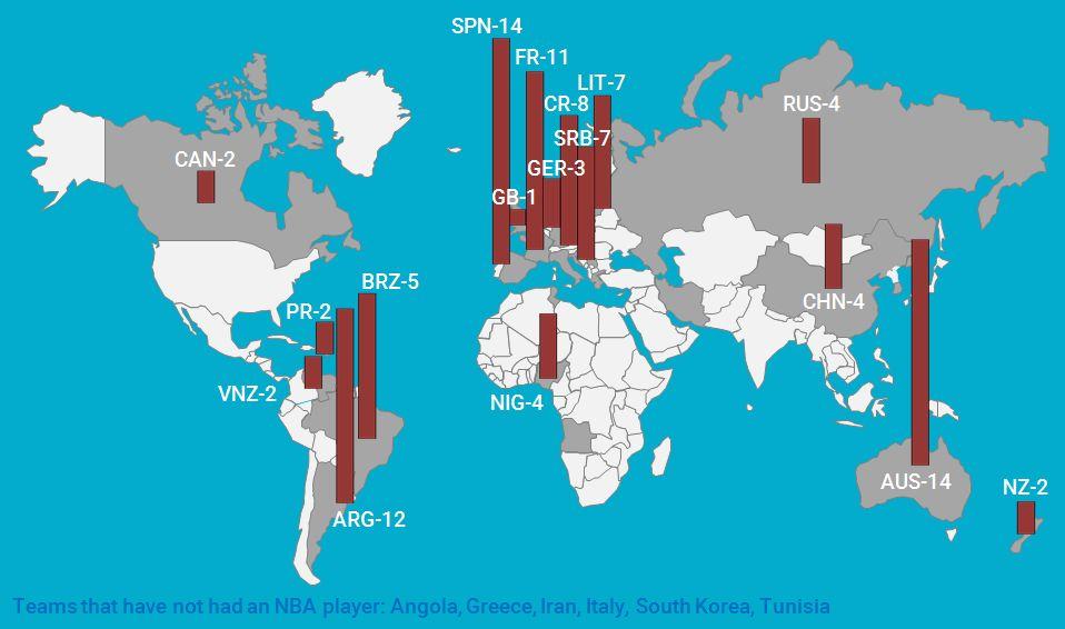Us Map Nba Teams - Us map nba teams
