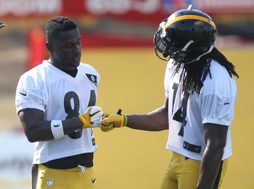 3dddbde5b The Steelers wide receivers are usually great for fantasy football