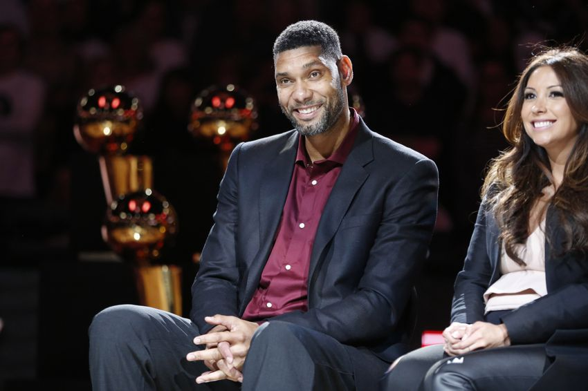 0e611d9b122 5 best moments from Tim Duncan s jersey retirement ceremony