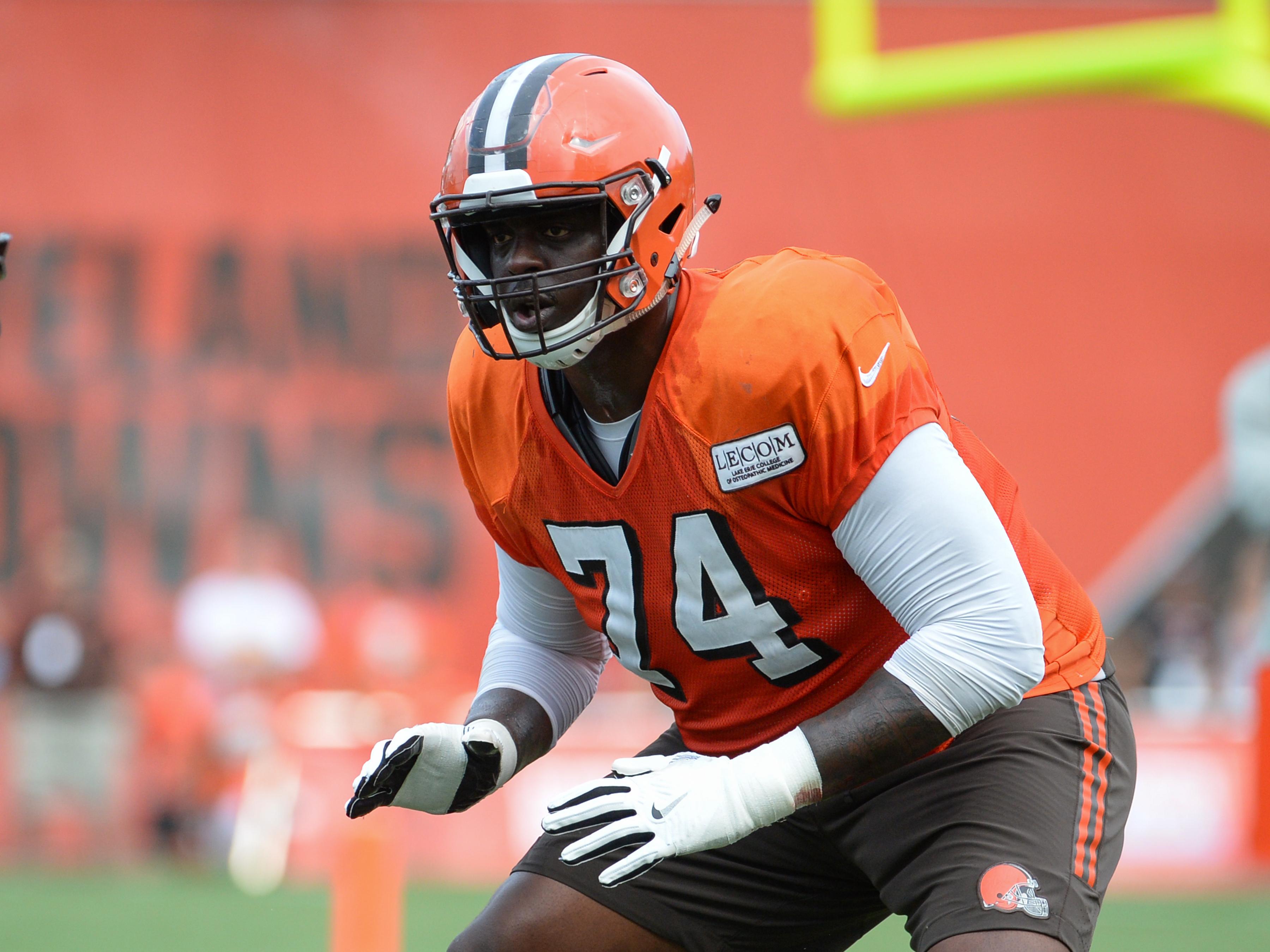 Cameron Erving Cleveland Browns Game Jersey