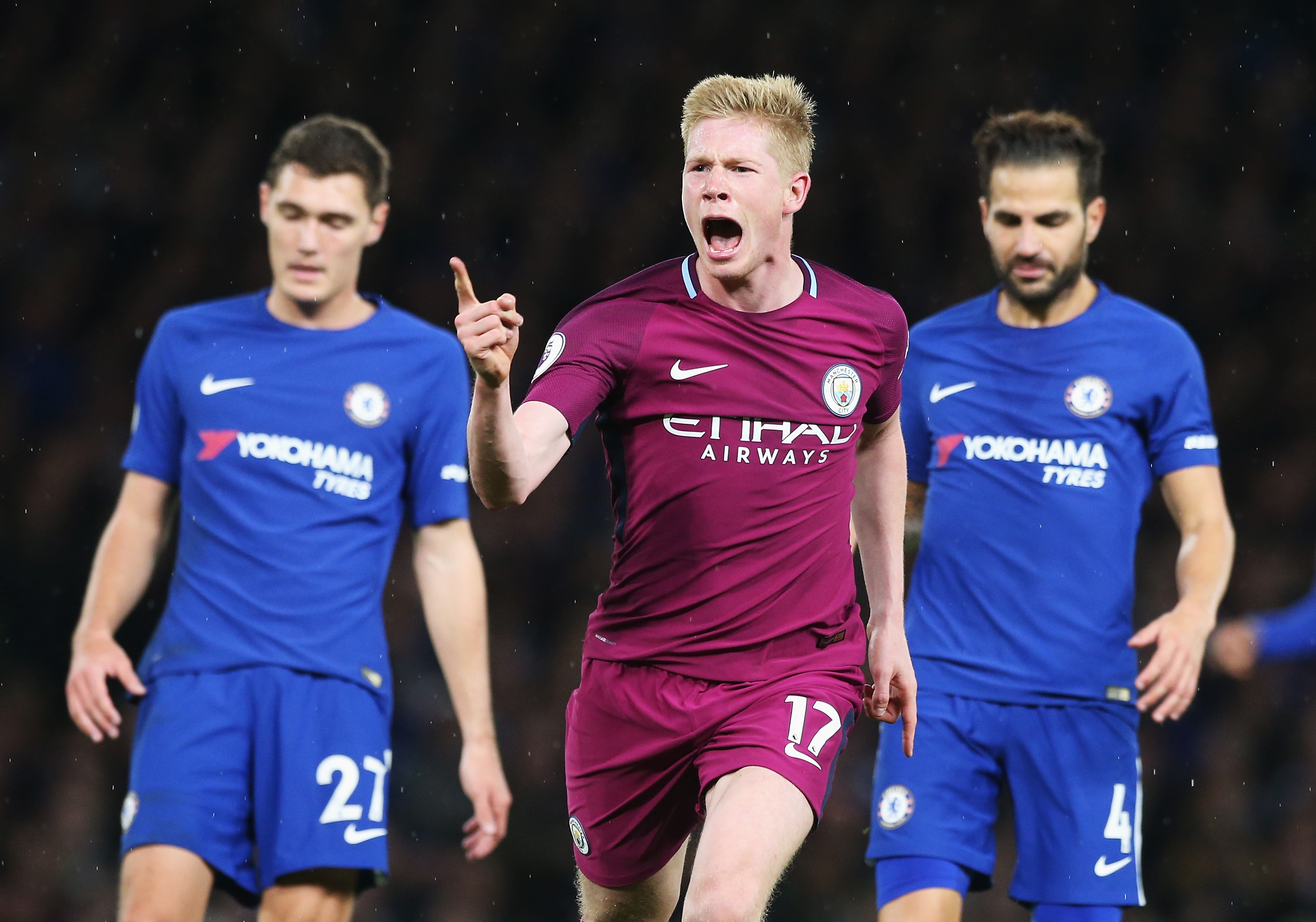 Guardiola hails victory after Chelsea romp