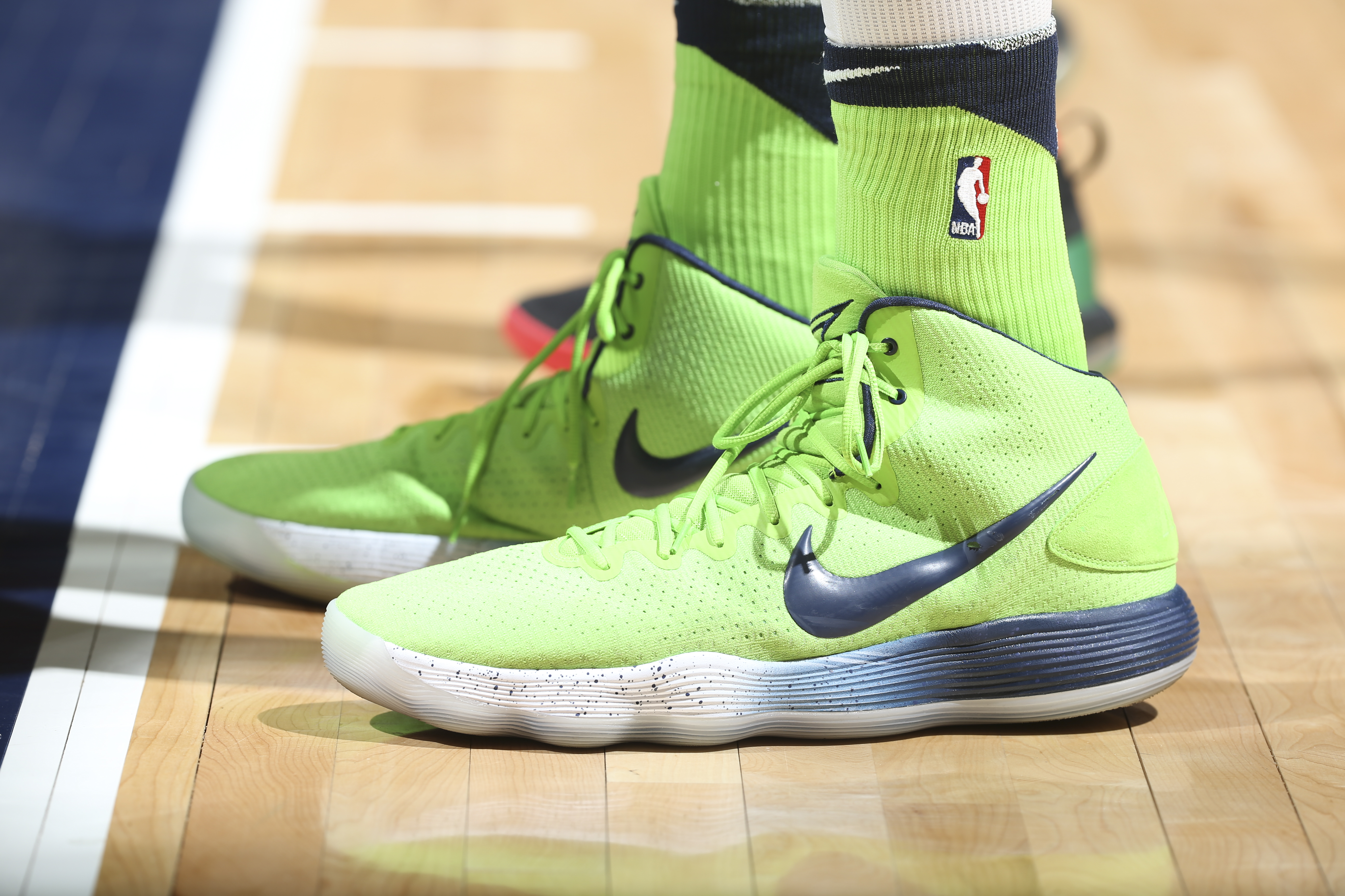 Karl-Anthony Towns has Rick \u0026 Morty shoes